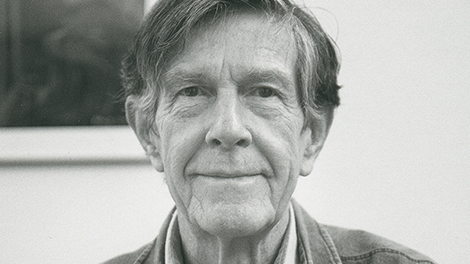 Cover - About the composer – John Cage