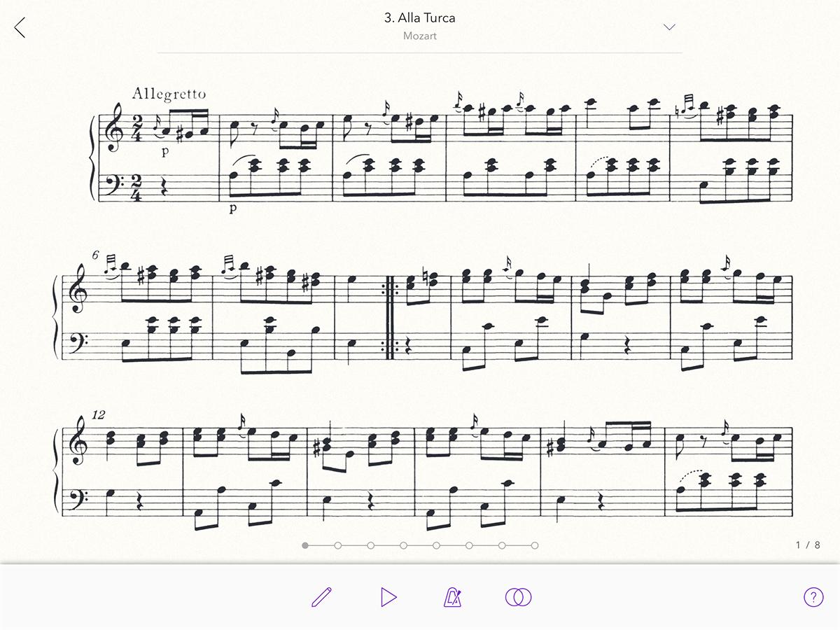 Alla Turca Mozart 3. alla turca from 11. sonata in a major, k. 331 (300i)