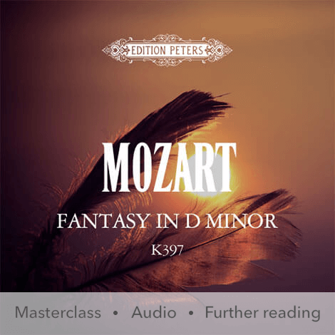 Cover - Fantasy in D minor K397 - Wolfgang Amadeus Mozart