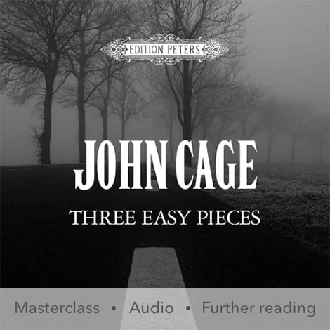 Cover - Three Easy Pieces - John Cage