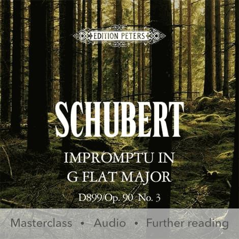 Cover - Impromptu in G flat major D899/Op. 90 No. 3 - Franz Schubert