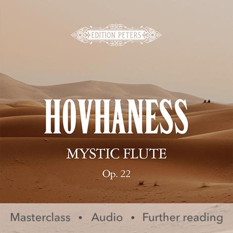 Cover - Mystic Flute Op. 22 - Alan Hovhaness