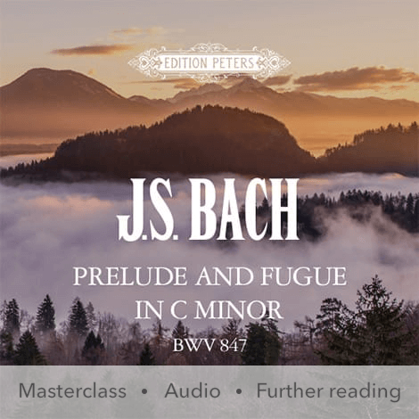 Cover - Prelude and Fugue in C minor BWV 847 - J. S. Bach