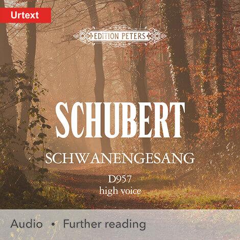 Cover - Schwanengesang (High Voice) - Franz Schubert