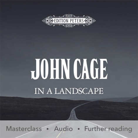 Cover - In a Landscape – John Cage