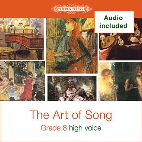 Cover - The Art of Song Grade 8: High - Various
