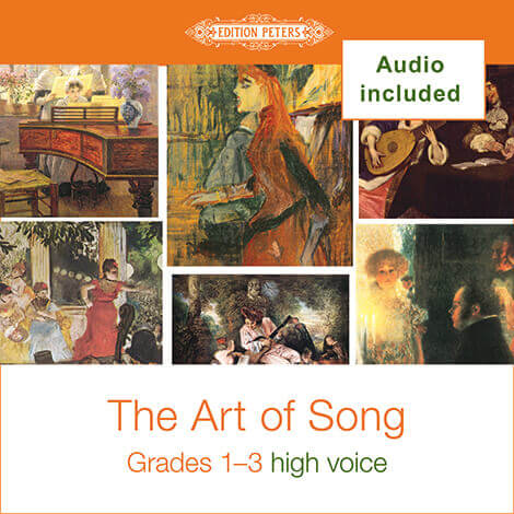 Cover - The Art of Song Grades 1-3: High - Various