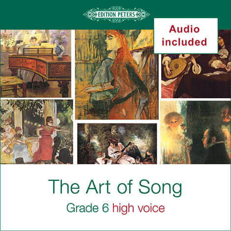 Cover - The Art of Song Grade 6: High - Various