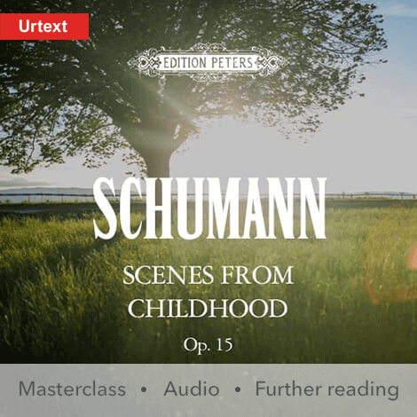 Cover - Scenes from Childhood Op. 15 - Schumann