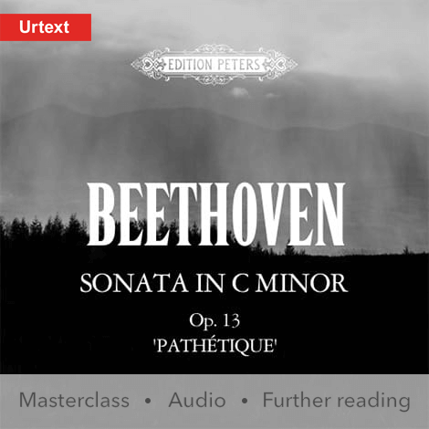 Cover - Sonata in C minor Op. 13, 'Pathétique' - Ludwig van Beethoven