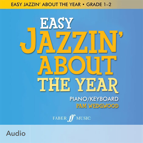 Cover - Easy Jazzin' About the Year – Festivals - Pamela Wedgwood