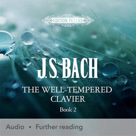 Cover - The Well-Tempered Clavier, Book 2 - J. S. Bach