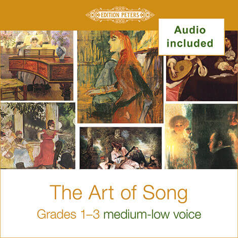 Cover - The Art of Song Grades 1-3: Med-Low - Various