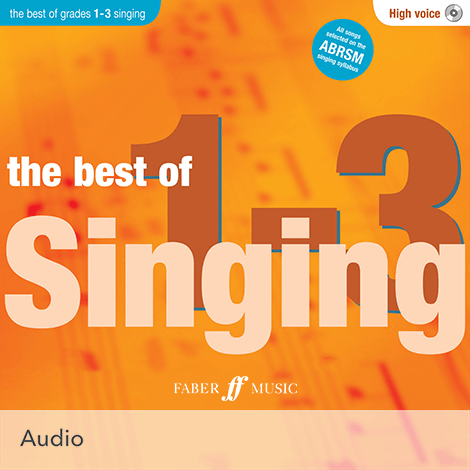 Cover - The Best of Singing Grades 1 - 3 (High Voice) - Various