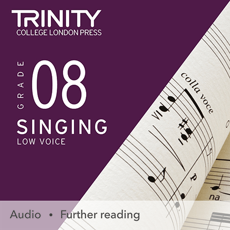 Cover - Singing Grade 8 (Low Voice) - Trinity College London