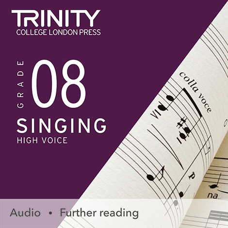 Cover - Singing Grade 8 (High Voice) - Trinity College London