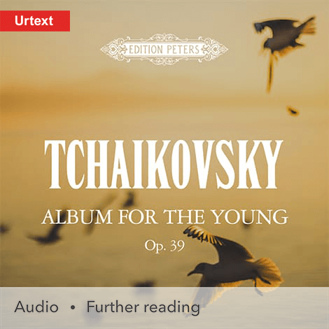 Cover - Album for the Young Op. 39 - Peter Ilich Tchaikovsky