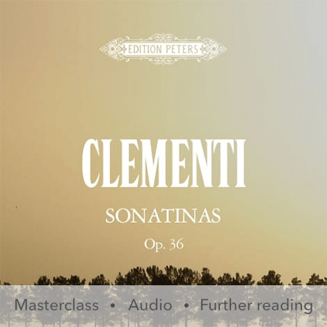 Cover - Sonatinas Op. 36 - Clementi