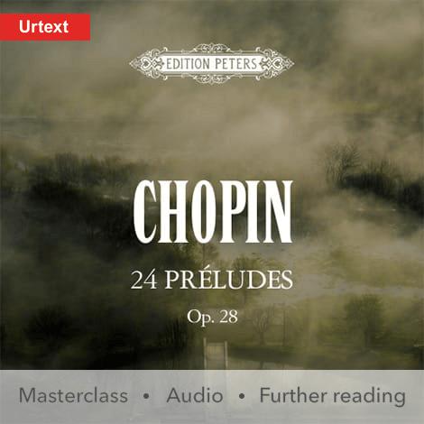 Cover - 24 Préludes Op. 28 - Frédéric Chopin