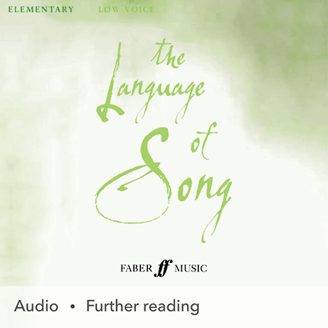 Cover - The Language Of Song: Elementary (Low Voice) - Heidi Pegler & Nicola-Jane Kemp (selection, edition)
