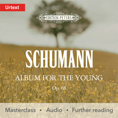 Cover - Album for the Young - Robert Schumann