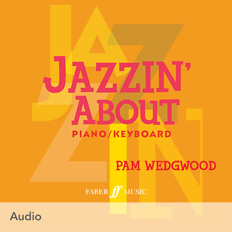 Cover - Jazzin' About - Pamela Wedgwood