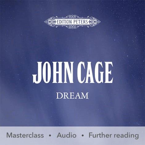 Cover - Dream - John Cage