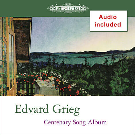 Cover - Centenary Song Album - Edvard Grieg