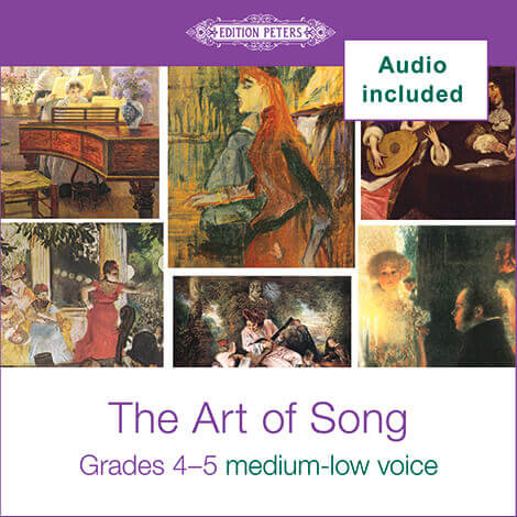 Cover - The Art of Song Grades 4-5: Med-Low - Various