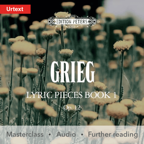 Cover - Lyric Pieces, Book 1, Op. 12 - Grieg