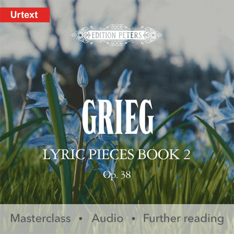 Cover - Lyric Pieces, Book 2, Op. 38 - Grieg