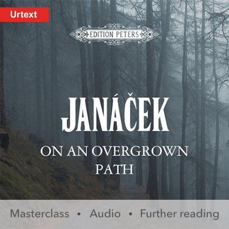 Cover - On an Overgrown Path - Leoš Janáček
