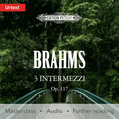 Cover - Intermezzi Op. 117 - Johannes Brahms