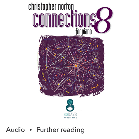 Cover - Connections 8 for Piano - Christopher Norton
