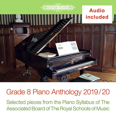 Cover - Grade 8 Piano Anthology: Examination Pieces for 2019 and 2020 - Various