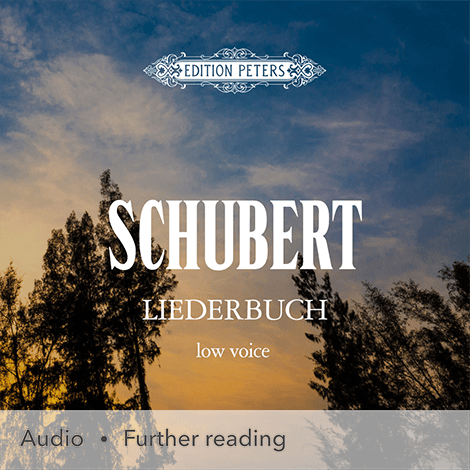 Cover - Liederbuch (Low Voice) - Franz Schubert