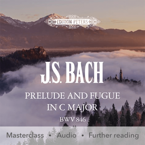 Cover - Prelude and Fugue in C major BWV 846 - J. S. Bach