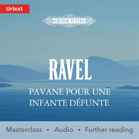 Cover - Pavane pour une Infante défunte - Ravel