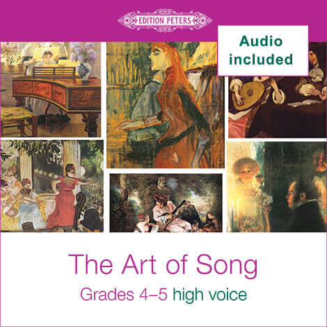 Cover - The Art of Song Grades 4-5: High - Various