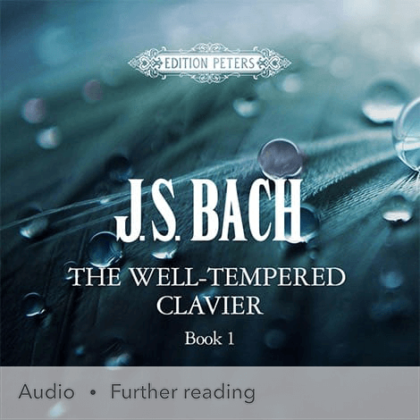 Cover - The Well-Tempered Clavier, Book 1 - J. S. Bach