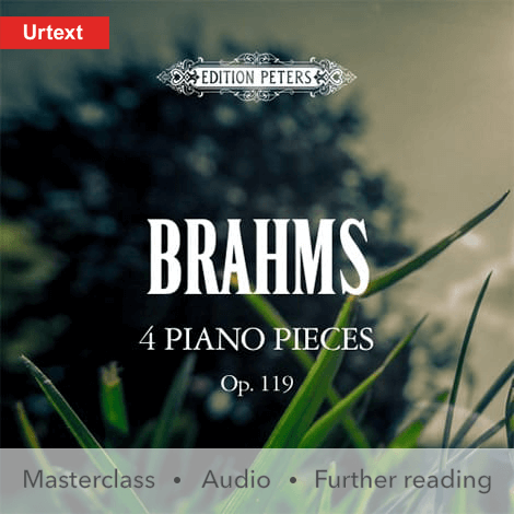 Cover - Four Pieces for Piano Op. 119 - Brahms
