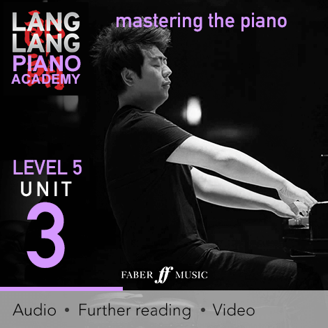 Cover - Mastering The Piano – Level 5 Unit 3: Refining the touch - Various