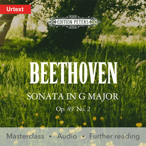 Cover - Sonata in G major Op. 49 No. 2 - Beethoven