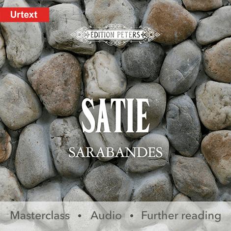 Cover - Sarabandes - Erik Satie