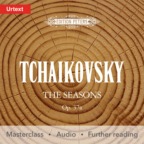 Cover - The Seasons Op. 37a - Peter Ilich Tchaikovsky