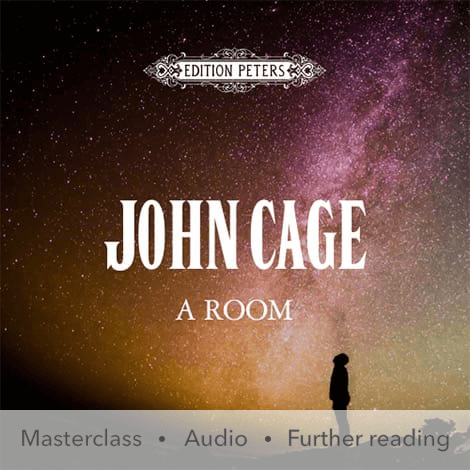 Cover - A Room - John Cage