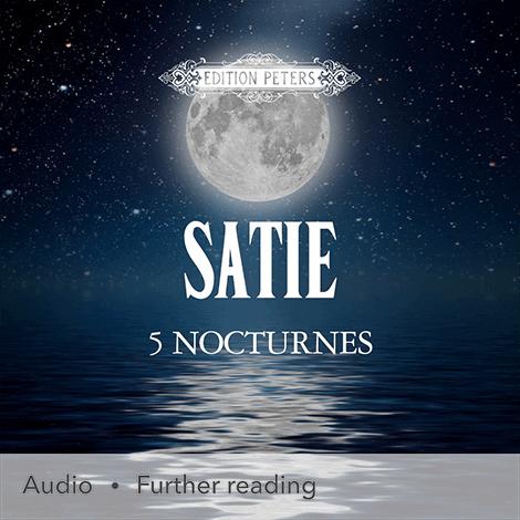 Cover - 5 Nocturnes - Erik Satie