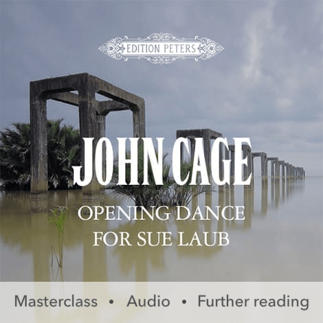 Cover - Opening Dance for Sue Laub - John Cage