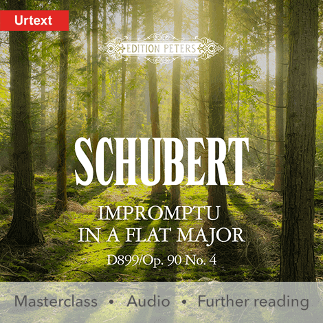 Cover - Impromptu in A flat major D899 Op. 90/No. 4 - Franz Schubert