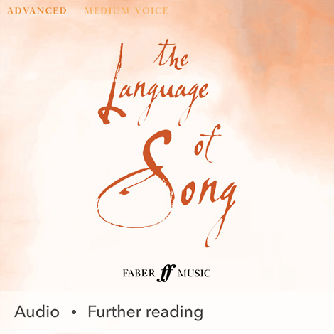 Cover - The Language Of Song: Advanced (Medium Voice) - Heidi Pegler & Nicola-Jane Kemp (selection, edition)